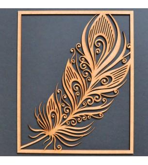 Cadre plume filigrane 29 cm