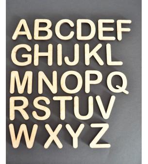Lettre à l'unité bois MDF 6 cm