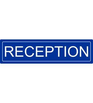 Plaque Réception acrylique...