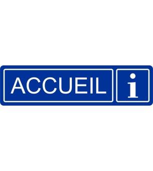 Plaque Accueil acrylique...