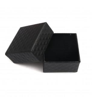 Boite cadeau noir cartonnée