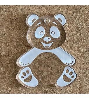 Pendentif plexiglas panda 50mm