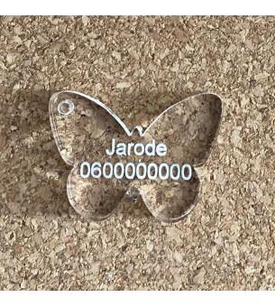Médaille animaux papillon...