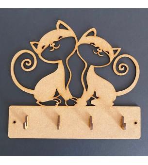 Plaque de porte-clés couple...