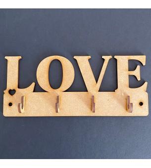 Plaque de porte-clés love...