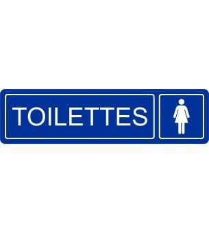 Plaque Toilettes femmes...