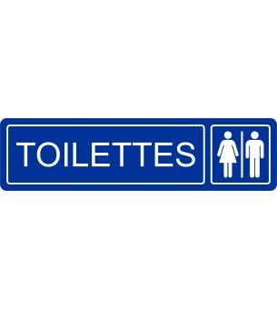 Plaque Toilettes hommes...