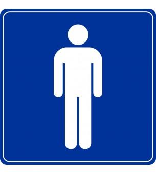 Plaque Toilette homme...