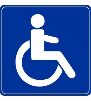 Plaque Toilette handicapé...