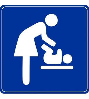 Plaque Toilette change bébé...