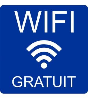Plaque Wifi gratuit...