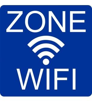 Plaque Zone wifi acrylique...