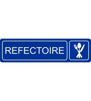 Plaque Réfectoire acrylique...