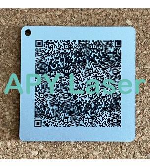 QR Code sur acyrlique pour...