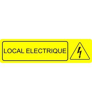 Plaque Local éléctrique...