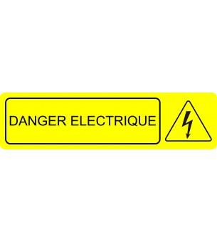 Plaque Danger éléctrique...