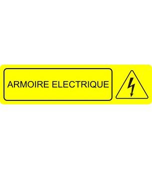Plaque Armoire éléctrique...